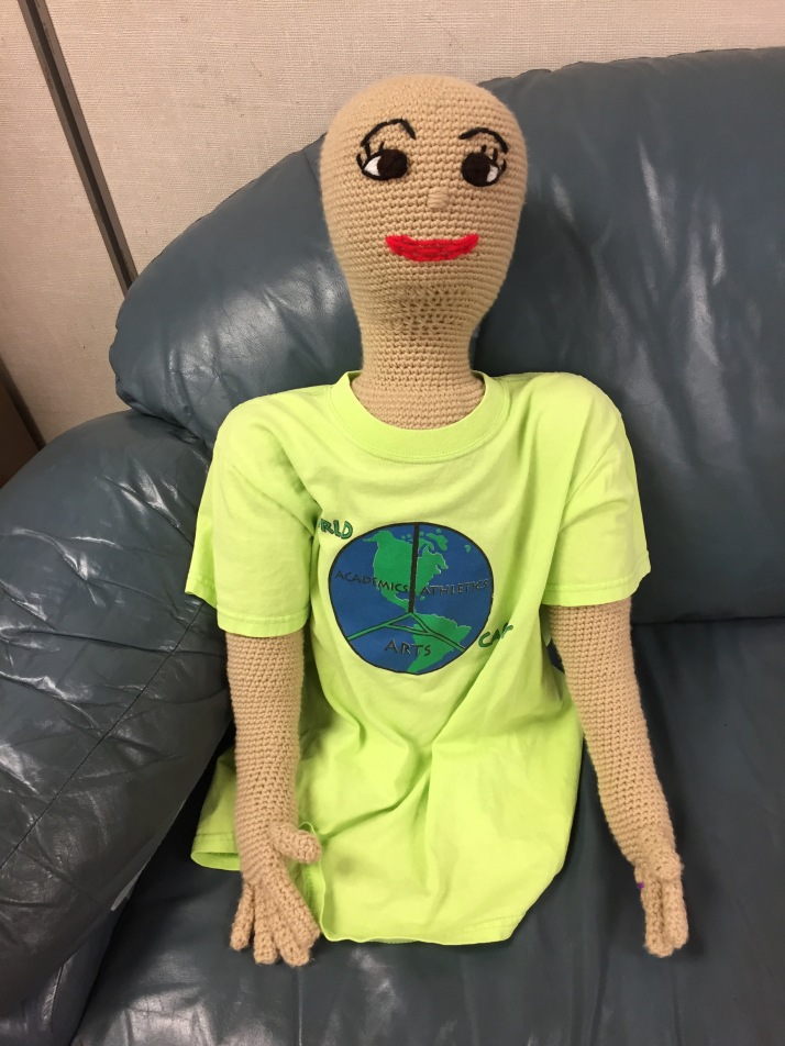 Crochet large doll
